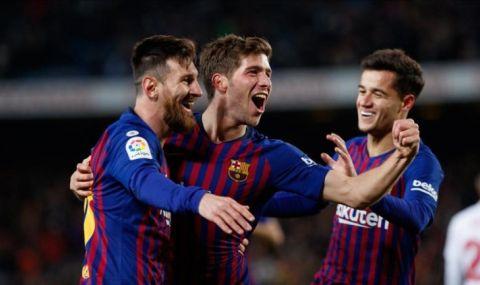 26 положителни проби за COVID-19 е дал футболист на Барселона