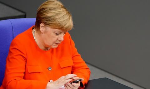 Меркел: Не ме интересуват ръководни постове в ЕС