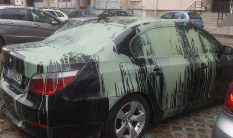 Заляха с боя баровско BMW