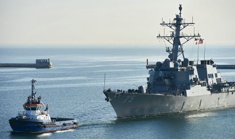 САЩ отмениха прехвърлянето на кораби в Черно море