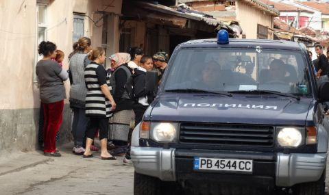 Голям пожар в Шекер махала в Пловдив - 1