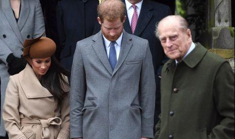 Хари и Меган почетоха паметта на принц Филип (СНИМКА)