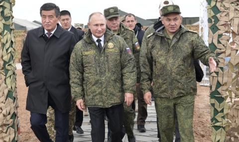 Русия домакин на мащабни военни учения