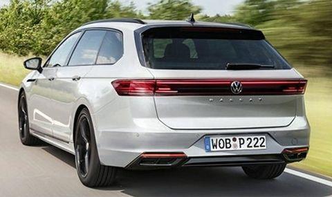 Новият VW Passat: първи подробности за B9 - 1