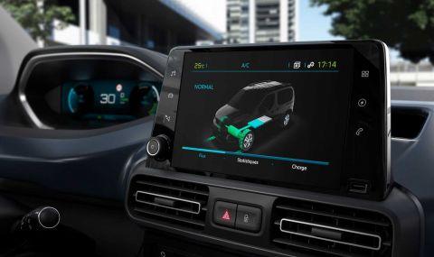 Peugeot представи електрическия Rifter - 7
