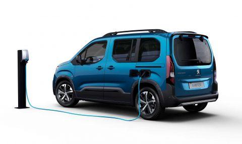 Peugeot представи електрическия Rifter - 4
