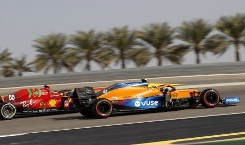 Пилот на McLaren: Превъзхождаме Ferrari