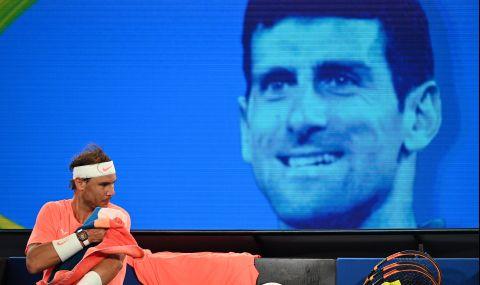 Надал: За Джокович най-важното нещо на света са титлите