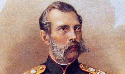 2 март 1855 г.  Александър II става цар на Русия