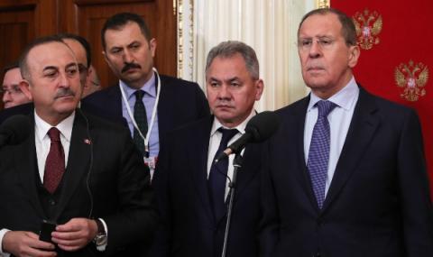 Важен разговор между Русия и Турция