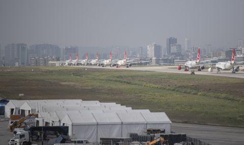 Летището в Истанбул е най-натовареното в Европа