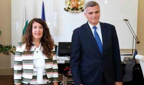 Стефан Янев и Херо Мустафа обсъдиха двустранните отношения между България и САЩ - 1