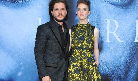 """Джон Сноу и Дивачката от """"Игра на тронове"""" очакват бебе"""