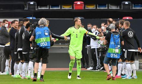 Мануел Нойер записа рекорд за националния тим на Германия