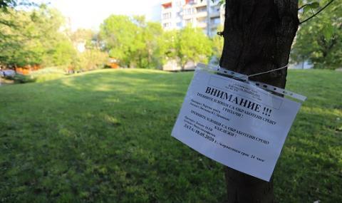 Бум на кърлежи в София