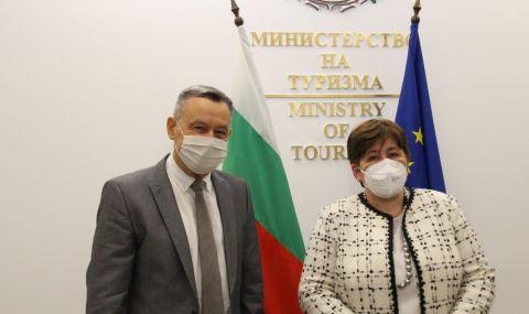 Министърът на туризма Стела Балтова на среща с посланика на Украйна: Работим за доверието на туристите