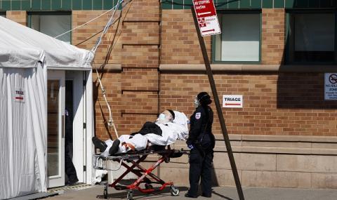 Смъртността от COVID-19 в Ню Йорк намалява