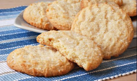 Рецепта на деня: Меки захарни бисквити