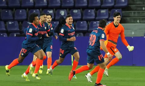 Вратарят на Севиля донесе точка на своя тим срещу Валядолид (ВИДЕО)