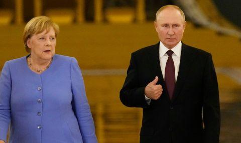Меркел предупреди Русия  - 1