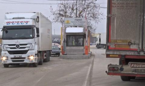 Забраната за камионите, пътуващи към Турция, не издържа и ден