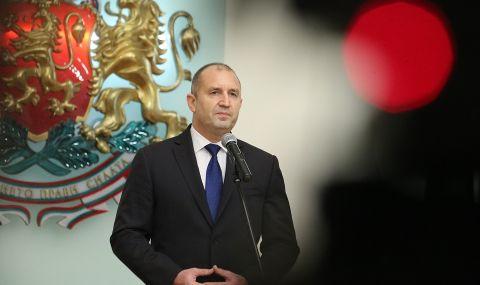 Президентът Радев: Трябва да се смени управлението