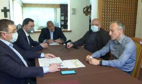 Трима министри в оставка се отчетоха пред премиера в оставка