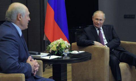 Лукашенко се оплаква на Путин