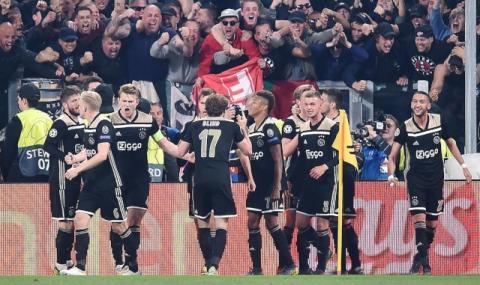 Аякс хвърли още една бомба в Шампионска лига