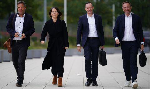 Важни преговори за правителство в Германия - 1
