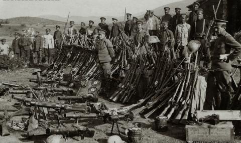 16 май 1915 г. Антантата ухажва България