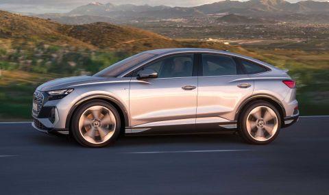 Audi представи електрическото Q4 с различен дизайн и нова платформа - 8