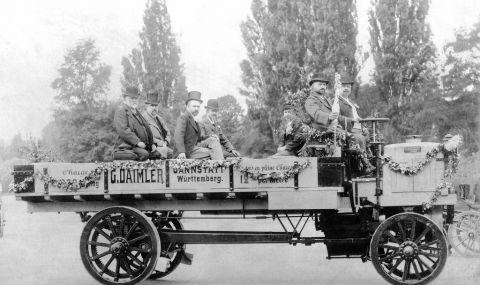 125 години от създаването на първия камион