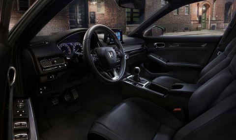 Новата Honda Civic Hatchback дебютира с познат дизайн - 6