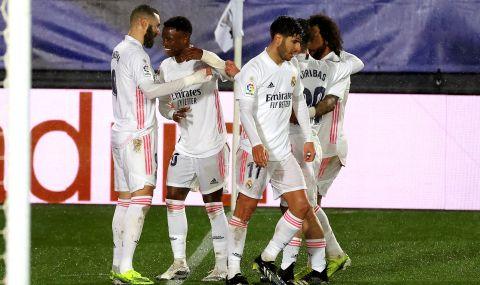 Реал Мадрид излезе на второ място в Испания