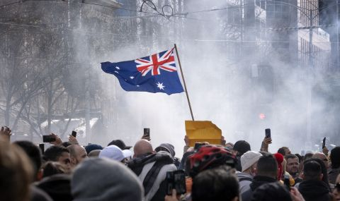 Големи протести в Австралия - 1