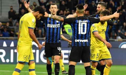 Интер с решителна крачка към Шампионска лига