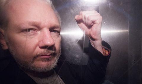 САЩ търсят екстрадицията на Джулиан Асандж