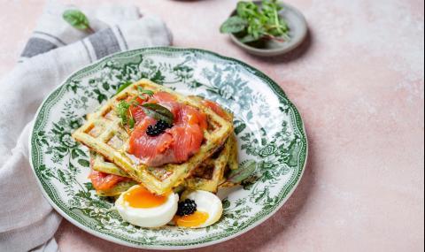 Рецепта за вечеря: Солени гофрети от тиквички