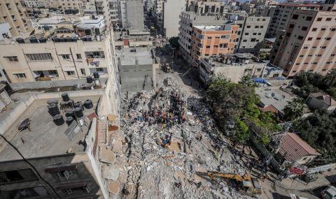 Съседите осъдиха разрушаването на медийна сграда