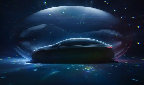 Електрическата лимузина на Mercedes дебютира тази вечер