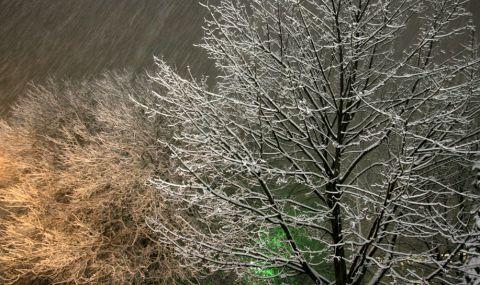 Продължава обилният снеговалеж в София