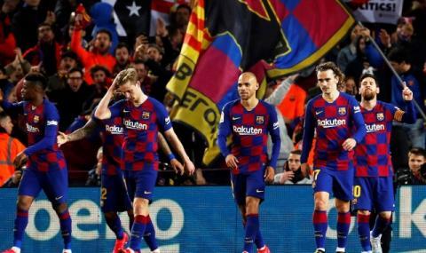 Големи промени в състава на Барселона