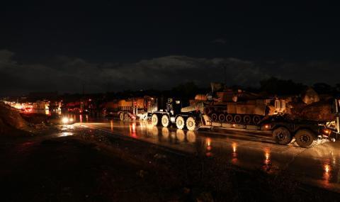 Турската армия е убила 55 сирийски войници