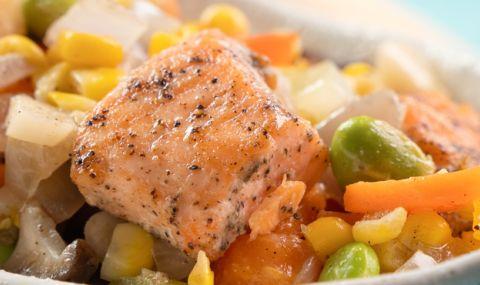 Рецепта за вечеря: Риба саворин със зеленчуци - 1