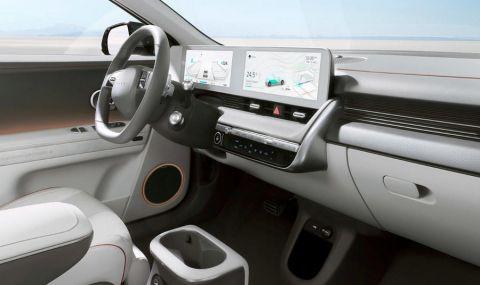 Ioniq 5 дебютира като първия самостоятелен модел на марката - 12