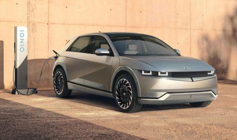 Ioniq 5 дебютира като първия самостоятелен модел на марката - 15