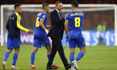 UEFA EURO 2020 Шевченко: Загубихме, но с достойнство