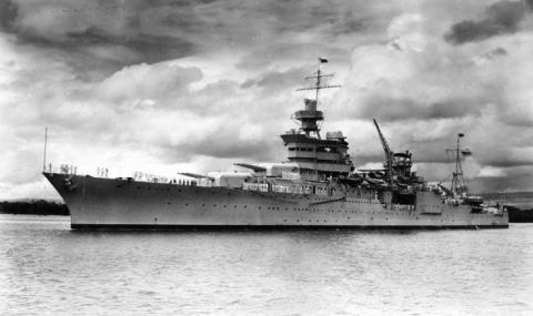 """30 юли 1945 г. Японци потопяват """"Индианаполис"""""""
