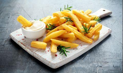 Рецепта за вечеря: Пържени картофи без мазнина - 1